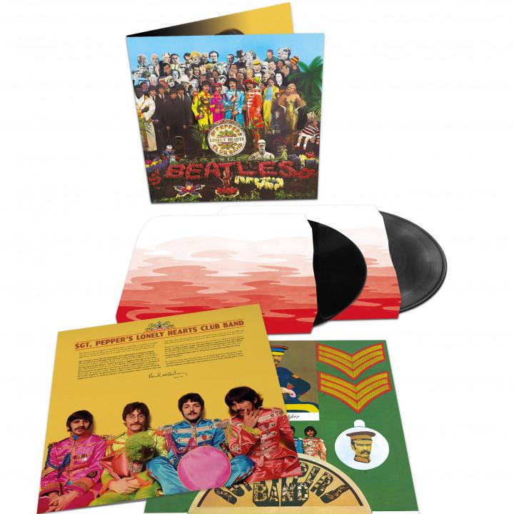 00602557455342 The Beatles Sgt Pepper 2LP