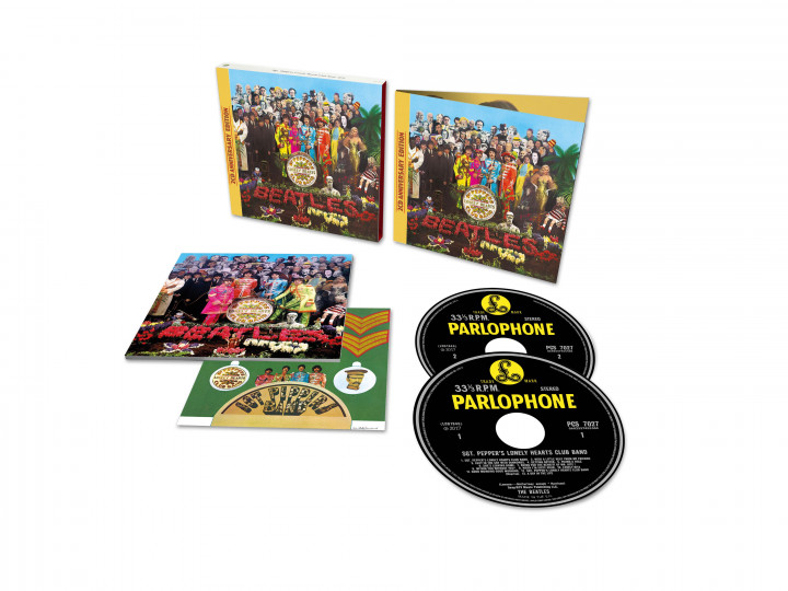 Sgt.Pepper's Lonely Hearts Club Band (50th Anniv., 2CD Deluxe)
