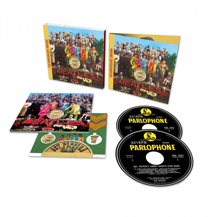 00602557455366 The Beatles Sgt Pepper 2CD Deluxe
