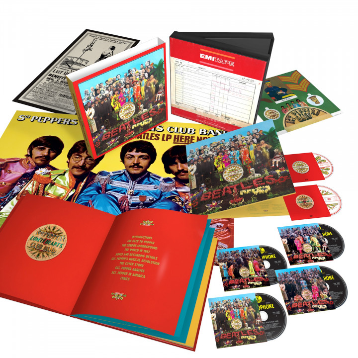 Sgt.Pepper's Lonely Hearts Club Band - (50th Anniv., Ltd. 6 Disc Super Deluxe Box)