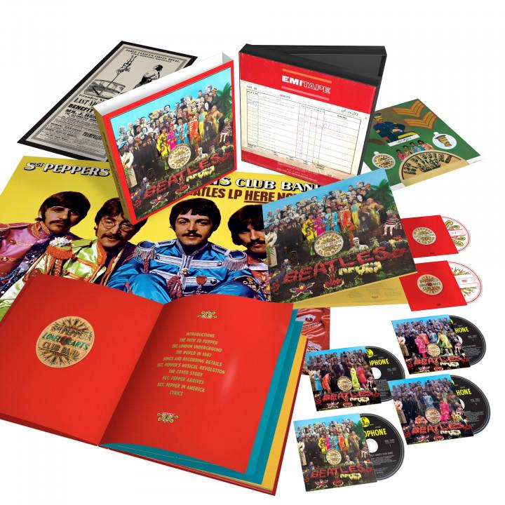00602557455328 The Beatles Sgt Pepper 6 Disc