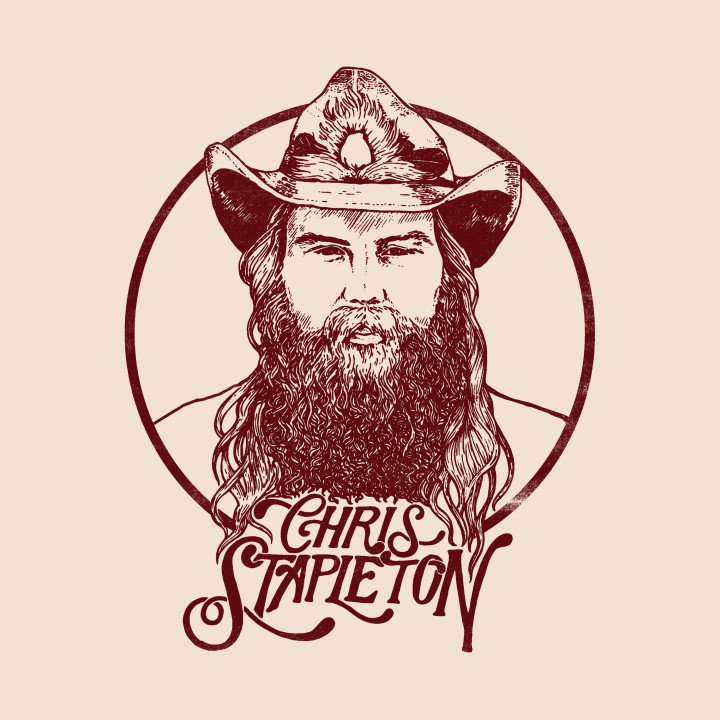 Chris Stapleton 2017 From A Room: Vol 1 Cover