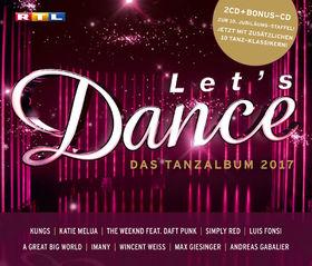 Let's Dance, Let's Dance - Das Tanzalbum 2017 (inkl. Bonus CD), 00600753771273