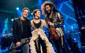 Yellow Lounge, Musikalisches Feuerwerk: Die ZDF-Yellow Lounge am Ostersonntag mit Ottensamer, Radulović & Sidorova