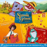 SimsalaGrimm, 02: Rotkäppchen / Der Froschkönig, 00602557623390