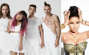 DNCE, Auf Tuchfühlung mit Nicki Minaj: Neuer Song Kissing Strangers von DNCE