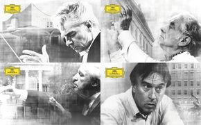 Conductors & Orchestras, Fest der Giganten - Mit Conductors & Orchestras präsentiert die Deutsche Grammophon eine spannende neue Serie