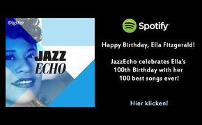 Ella Fitzgerald, 100 x Ella Fitzgerald - hier die schönsten Songs der Jazz-Legende anhören