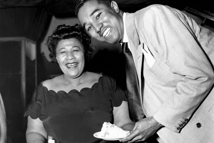 Ella Fitzgerald & Ray Brown by Herman Leonard