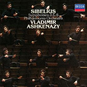 Vladimir Ashkenazy, Sibelius: Symphonies Nos. 3 & 6, 00028948319916