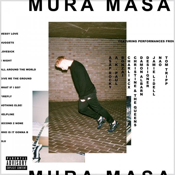 Mura Masa—Albumcover 2017