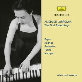 Alicia de Larrocha, Alicia De Larrocha - The First Recordings, 00028948215508