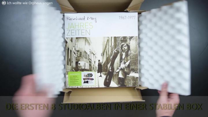 """Unboxing-Video - Reinhard Mey-Vinylbox """"Jahreszeiten 1967-1977"""""""