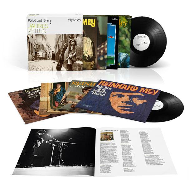 Reinhard Mey, Erste Vinylbox von Reinhard Mey ab sofort erhältlich