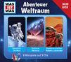 Was ist Was, Was Ist Was 3-CD Hörspielbox Vol.6 – Abenteuer Weltraum