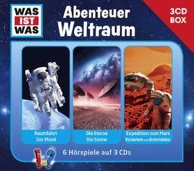 Was ist Was, Was Ist Was 3-CD Hörspielbox Vol. 6 – Abenteuer Weltraum, 09783788670269