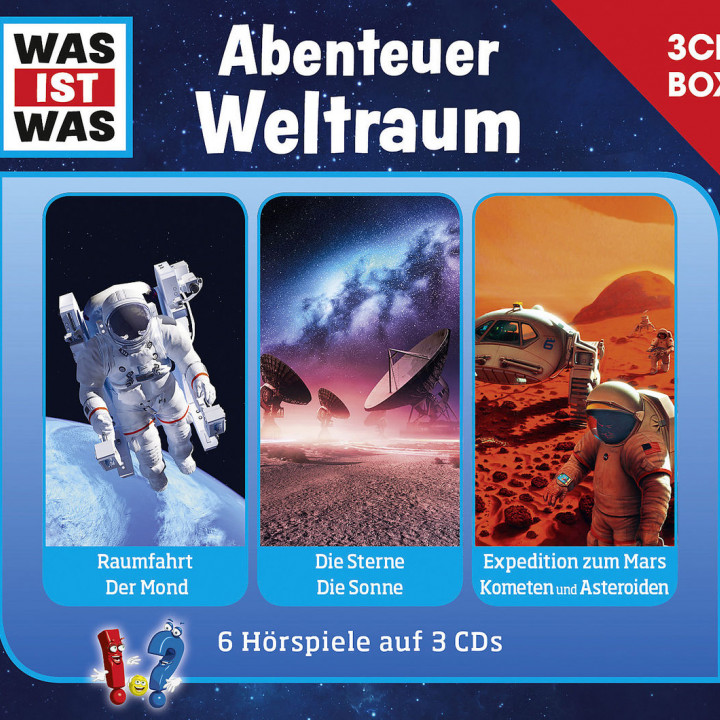Was Ist Was 3-CD Hörspielbox Vol.6 - Weltraum