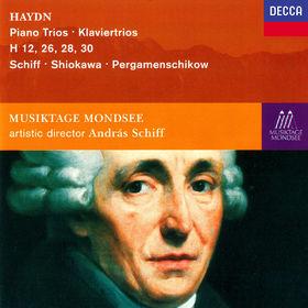 András Schiff, Haydn: Piano Trios Nos. 25, 40, 42 & 44, 00028948323517