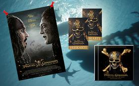 Pirates of the Caribbean, Großes Piraten-Gewinnspiel zum Kinostart von Pirates of the Caribbean: Salazars Rache