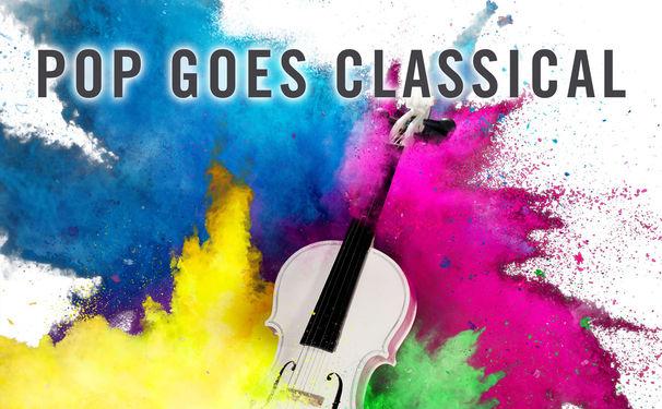 Diverse Künstler, Groovende Klangkörper und symphonischer Drive im Doppelalbum Pop Goes Classical