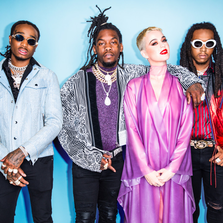 Katy Perry and Migos — 2017