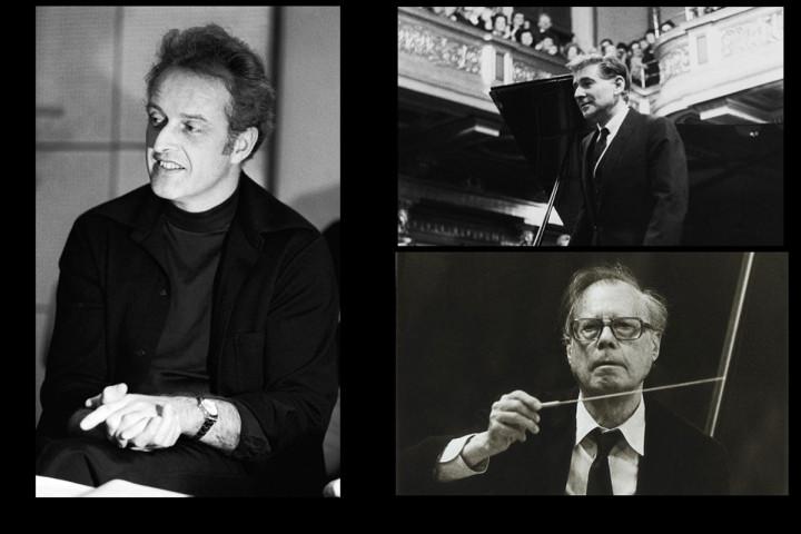 Carlos Kleiber, Karl Böhm, Leonard Bernstein