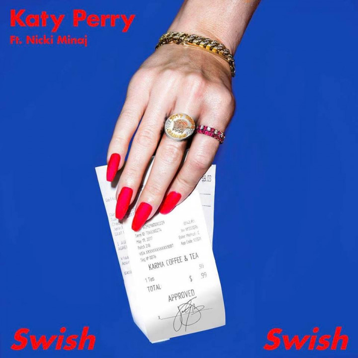 Katy Perry Swish Swish Single Cover