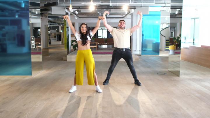 Despacito-Dance Part 1 (Radig mit Ivana Santacruz)