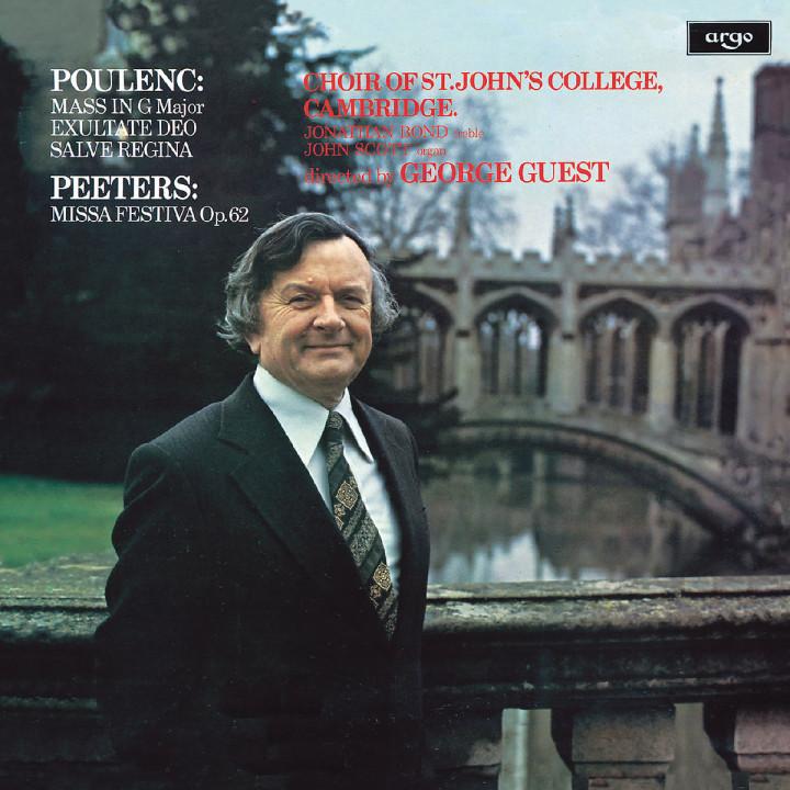 Poulenc: Mass in G; Exultate Deo; Salve Regina / Peeters: Missa Festiva