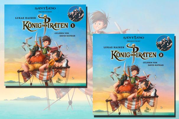 König der Piraten, Erlebt die Abenteuer aus König der Piraten mit Hörbüchern und der Musik von Santiano