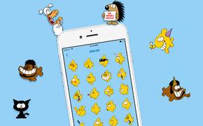 Ralph Ruthe, Erste Keyboard App von Ralph Ruthe mit Emojis und Stickern der beliebten Cartoons