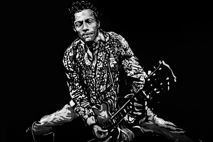 """Chuck Berry Albumcover 2017 """"Chuck"""""""