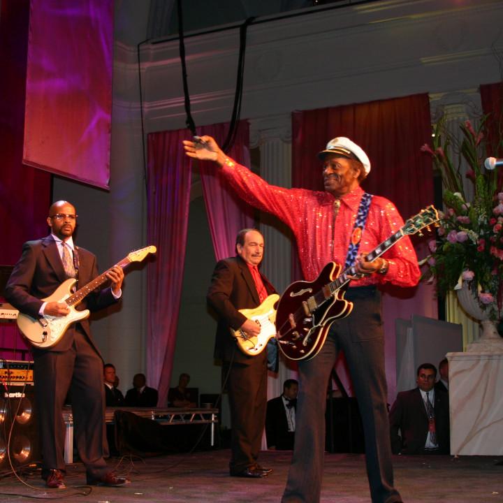 Charles Jr , Chuck Berry live