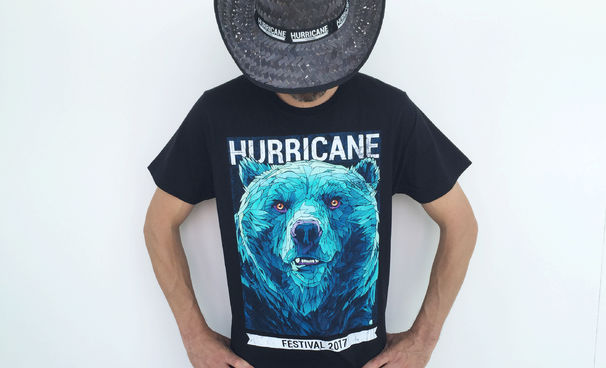 Clueso, Clueso beim Hurricane 2017: Wir verlosen Festival-Shirts
