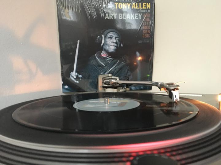 JazzEcho Plattenteller - Tony Allen