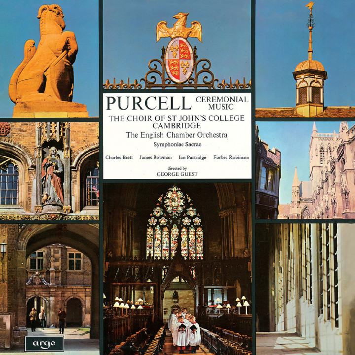 Purcell: Music for the Chapel Royal