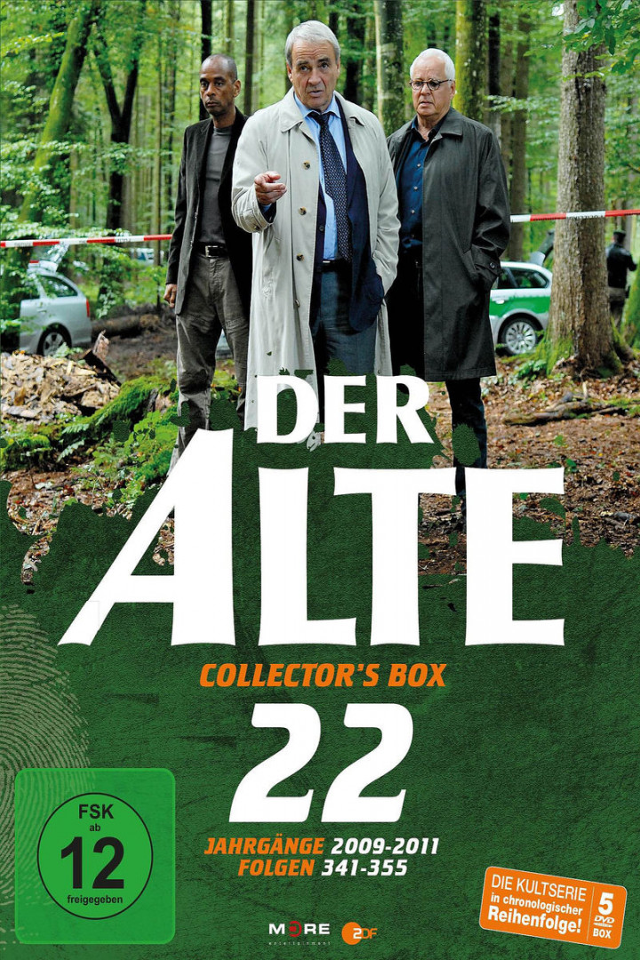 Der Alte Collector's Box Vol.22 (15 Folgen/5 DVD)