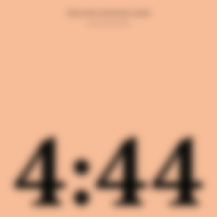 """444"" Album-Cover Jay-Z"