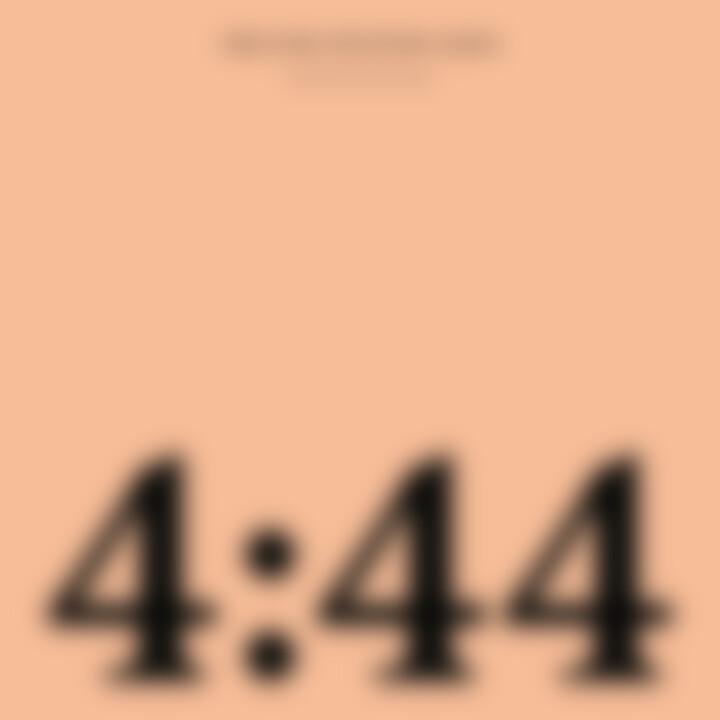"""""""444"""" Album-Cover Jay-Z"""