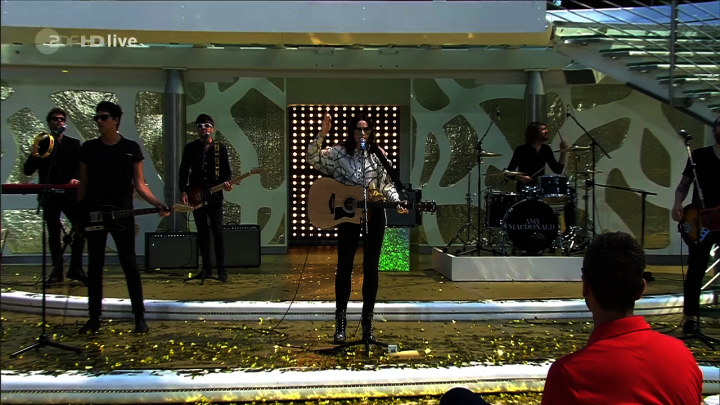 """Dream On"" & ""This Is The Life"" (Live beim ZDF Fernsehgarten)"