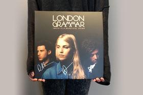 London Grammar, Gewinnt signierte Album Vinyls von London Grammar