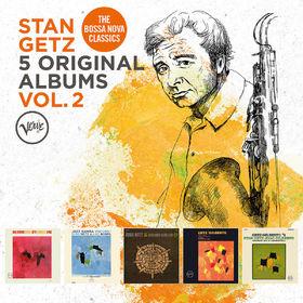 Stan Getz, 5 Original Albums, Vol. 2, 00600753765746