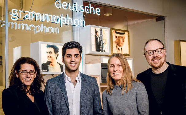 Kian Soltani, Kian Soltani ist neuer Exklusivkünstler bei Deutsche Grammophon