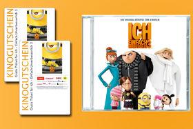 Minions, Gewinnt 3 x 2 Freikarten für Ich – Einfach unverbesserlich und das Original-Filmhörspiel