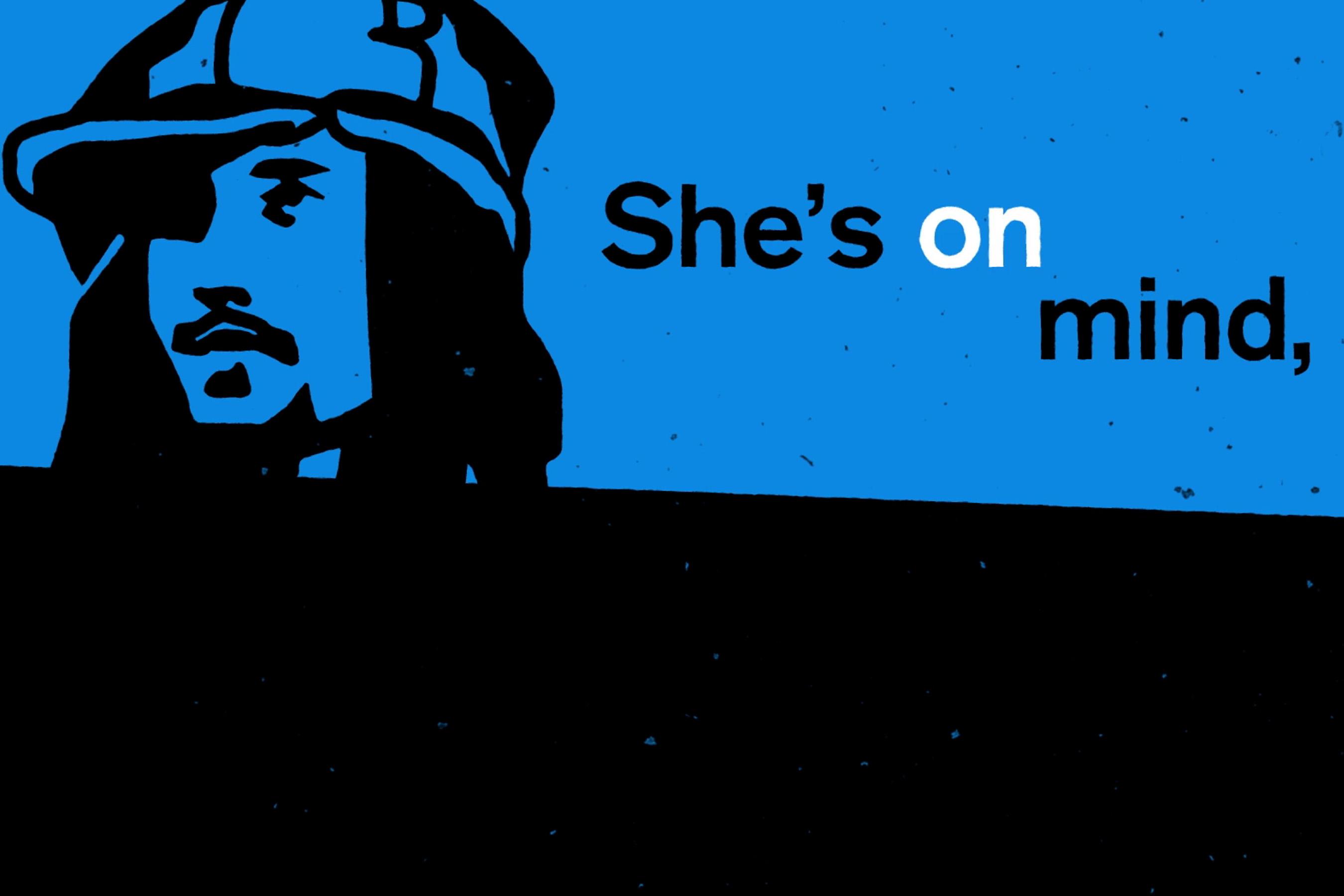 JP Cooper, She's On My Mind (Lyric Video)