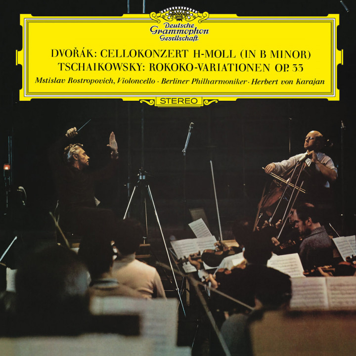 Dvorák: Cello Concerto In B Minor, Op.104, B. 191 / Tchaikovsky: Variations On A Rococo Theme, Op.33, TH.57
