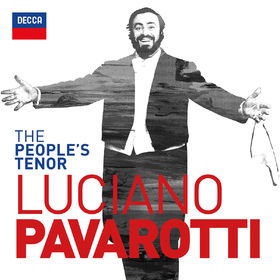 Luciano Pavarotti, The People's Tenor, 00028948327423