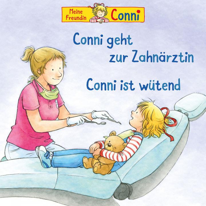 54: Conni geht zur Zahnärztin(neu)/ist wütend
