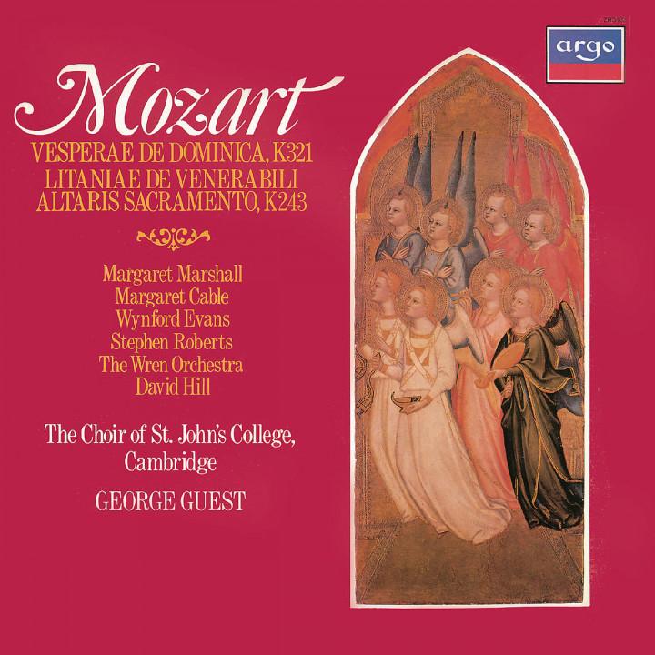 Mozart: Vesperae de Dominica; Litaniae de venerabili altaris sacramento