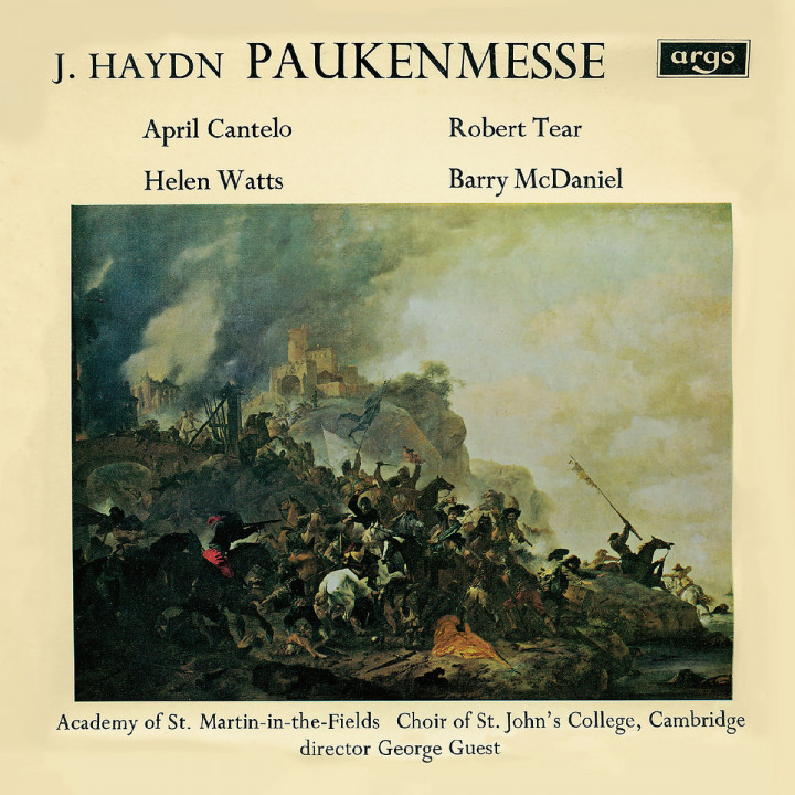 Haydn: Missa in tempore belli - Paukenmesse / M. Haydn: Ave Regina